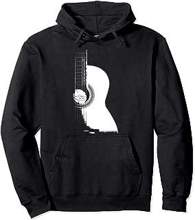 Acoustic Guitar Hoodie, Music Hoodie, Musician Hoodie