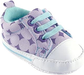 Luvable Friends Girl's Print Canvas Sneaker (Infant)