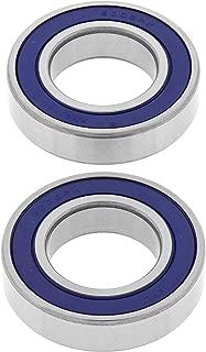 Transparent Hose /& Stainless Blue Banjos Pro Braking PBF9298-CLR-BLU Front Braided Brake Line