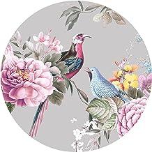Grandora Muursticker Muursticker bloemen wandafbeelding slaapkamer wandsticker bloemendesign woonkamer wanddecoratie hal e...