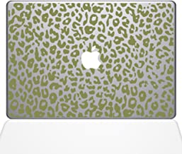 "The Decal Guru 2047-MAC-15P-G Leopard Spots Decal Vinyl Sticker, Gold, 15\"" MacBook Pro (2015 & Older)"
