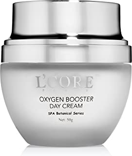 L'Core Paris Oxygen Booster Day Cream - Firming Anti Aging Face and Neck Skin Cream - Oxygenating Facial Cream Moisturizer for Tightening & Lifting Sagging Skin - 50g