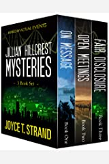 The Jillian Hillcrest Mysteries 3-Book Bundle: On Message, Open Meetings, Fair Disclosure Kindle Edition