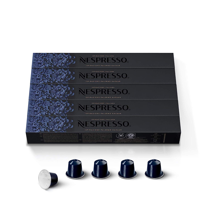 Nespresso Capsules OriginalLine Mail order cheap Kazaar Super special price Roast Coff Dark Intenso