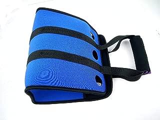 Outdoor Neoprene 6 can Cooler Beer Backpack Picnic Basket Bag Set Wine Box Chillers Frozen Wedding Bottle PP Tableware bar Lunch,Blue