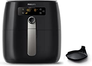Philips Airfryer Digital TurboStar with QuickClean Basket & Non-Stick Surface, 1425W, 0.8kg, Black, HD9643/17