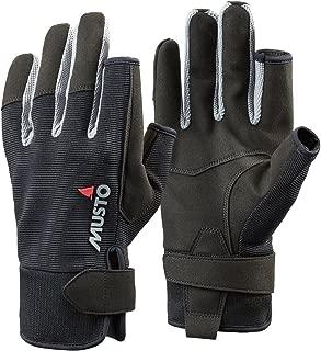 Musto Essential Long Finger Sailing Gloves - 2018 - Black