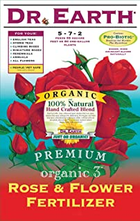 Dr. Earth Rose & Flower 5-7-2 (CA OK) Fertilizer, 25 lb