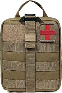 BAGAIL Rip-Away EMT Pouch Molle Pouch Ifak Pouch Medical First Aid Kit Utility Pouch 1000D Nylon
