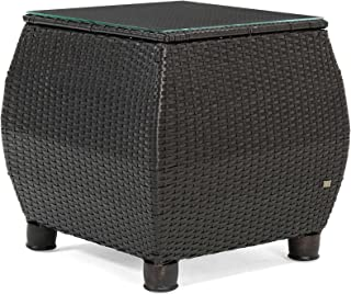 La-Z-Boy Outdoor Breckenridge Resin Wicker Patio Side Table