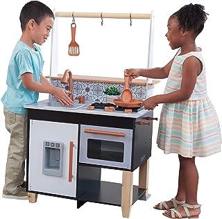 KidKraft 53441 Artisan Island tillbehör med EZ kraft montering lekkök av trä för barn