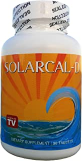 Coral Calcium, Magnesium, and Vitamin D-3 by SolarCal-D - Recommended by Robert Barefoot on TV and The Calcium Factor (90 ...