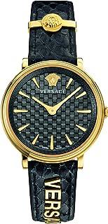 ساعة فيرزاتشي للسيدات بسوار من الجلد كاجوال - VE8101019