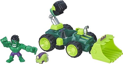 Para tu estilo de juego a los precios más baratos. Marvel Avengers Super Hero Mashers Mashers Mashers Hulk Smash-Dozer Vehículo y Figura  increíbles descuentos