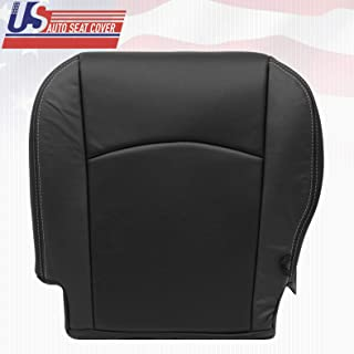 2009 2010 2011 2012 Fits Dodge Ram Laramie Driver Bottom Perforated Leather Cover BLK