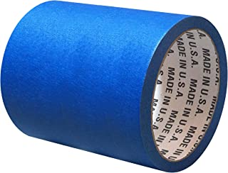 """5.8 Inch Blue Painters Masking Tape - 21 Day Long Lasting Easy Clean Release Painters Tape - 5.8"""" x 60 YD Blue Masking Tap..."""