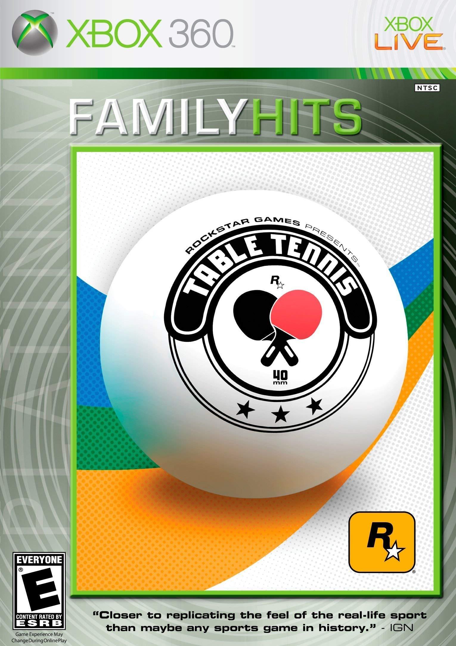 Table Tennis - Xbox 360 (Renewed)