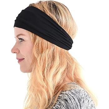 Casualbox Uomo giapponese elastico Fascia Per Capelli capelli fascia accessorio sport