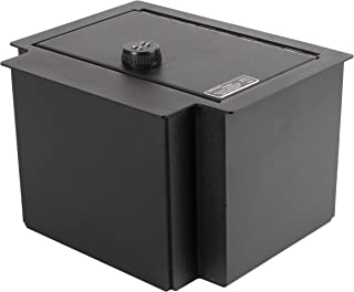 Lock'er Down Console Safe with 4 Digit Combo, Keep Personal Items Secure and Organized in Car, Compatible With 2014 1500 Series Sierra, Silverado with Floor Console
