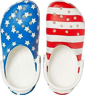 Men's and Women's Classic American Flag Clog | 4th of July Crocs Clogs