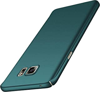 Anccer Colorful Series for Galaxy Note 5 Case [Ultra-Thin] [Anti-Stain] [Anti-Drop] Premium Material Slim Full Protection Cover (Gravel Green)