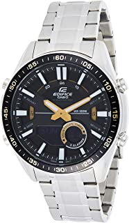 Casio Edifice Analog-Digital Black Dial Men's Watch-EFV-C100D-1BVDF (EX439)