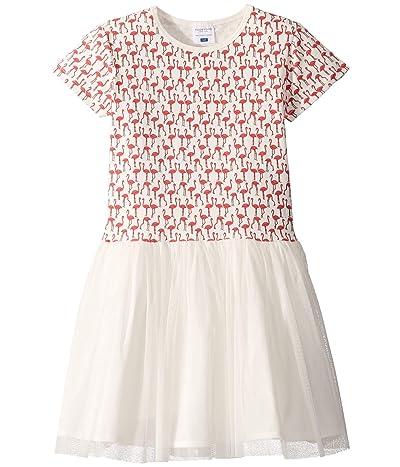 Toobydoo Tulle Party Dress (Toddler/Little Kids/Big Kids) (Flamingo Print) Girl