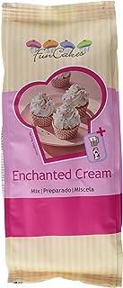 FunCakes Preparado para Enchanted Cream, Relleno o Frosting Ligero, Esponjoso y Blanco con Sabor Suave a Vainilla, 450g