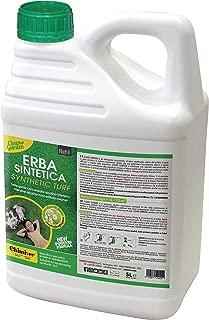 Chimiver® - Clean Garden 5L | Detergente Concentrado alcalino y sanitizante para césped sintético. Tanque de 5L.