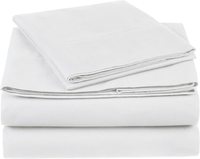 Amazon Brand Pinzon 300 Thread Count Organic Cotton Bed Sheet