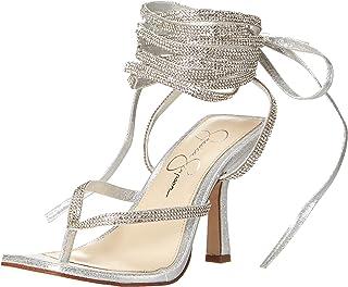 Jessica Simpson Kelsa2 Wrap Around Sandal womens Heeled Sandal
