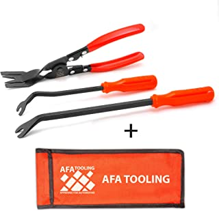 AFA Tooling (3 Pcs) Clip Plier Set and Fastener Remover - the Most Essential Panel Popper Tool
