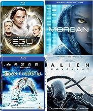 Bound for a remote planet Alien Covenant & A Bioengineered Child Morgan Movie + Stargate SGU Season 1.5 + UNIVERSE Star gate: Continuum Pack Blu Ray Mega Sci-Fi Set