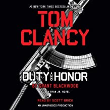 Tom Clancy Duty and Honor: A Jack Ryan Jr. Novel