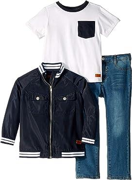 cb0841476 adidas Originals Kids Bandana Hoodie & Pants Set (Infant/Toddler) at ...