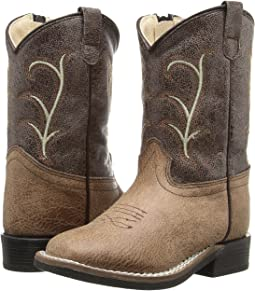 Old West Kids Boots - Square Toe Vintage (Toddler)