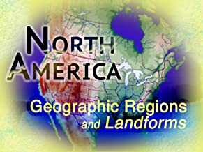 North America Geographic Regions and Landforms