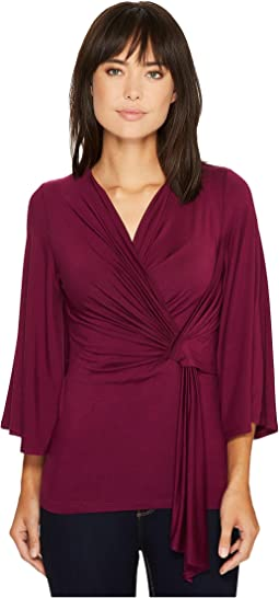 Karen Kane - Twisted Drape Top