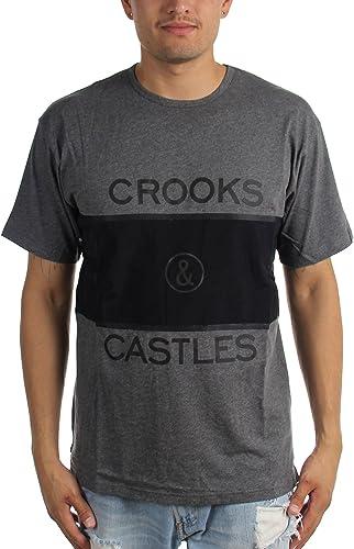Crooks & Castles Fer T-shirt pour hommes