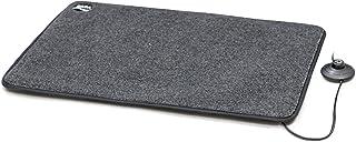 Daga Ab Calentador de Pies Eléctrico - Calentador Eléctrico de Pies, Negro, Gris, 40 X 60 cm
