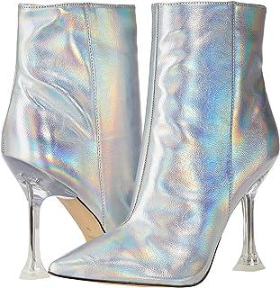 حذاء برقبة طويلة للنساء Tonight3 من Nine West، لون فضي قزحي اللون، 7. 5