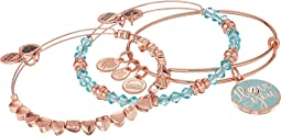 Alex and Ani - I Love You Set of 3 Bracelet