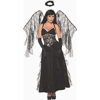 Forum Novelties AC80415 - Disfraz de ángel caído, color negro ...