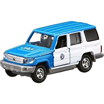 トミカ No.44 トヨタ ランドクルーザー JAFロードサービスカー (箱)