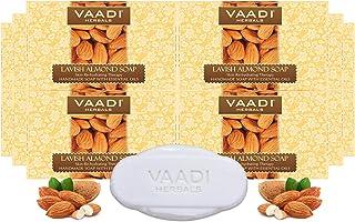 Vaadi Herbals Lavish Almond Soap, 75g (Pack of 12)