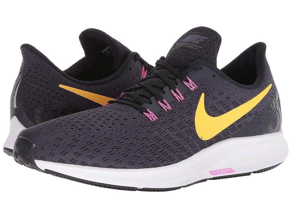 Nike Air Zoom Pegasus 35 (Gridiron/Laser Orange/Black/Pink Blast) Men
