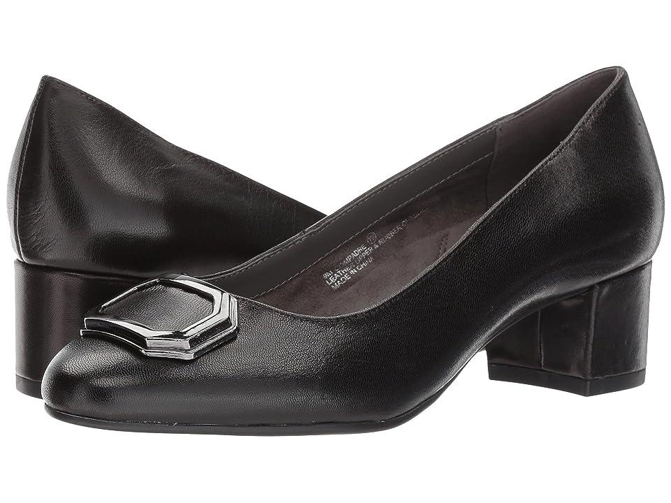 Aerosoles Compadre (Black Leather) Women