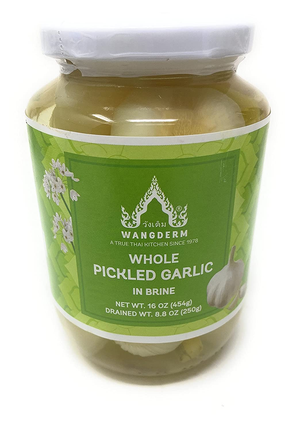 Wangderm Whole Inventory cleanup selling sale Pickled Garlic Max 81% OFF 16oz