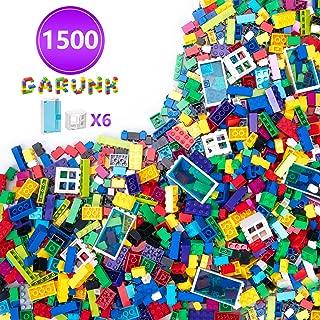 GARUNK 1500 Pieces Building Bricks for Kids, 1500 Pcs...