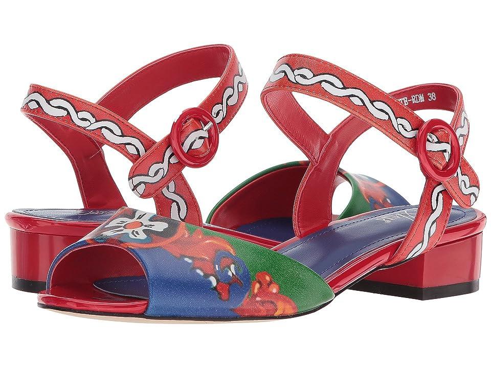 Spring Step Danette (Red Multi) Women